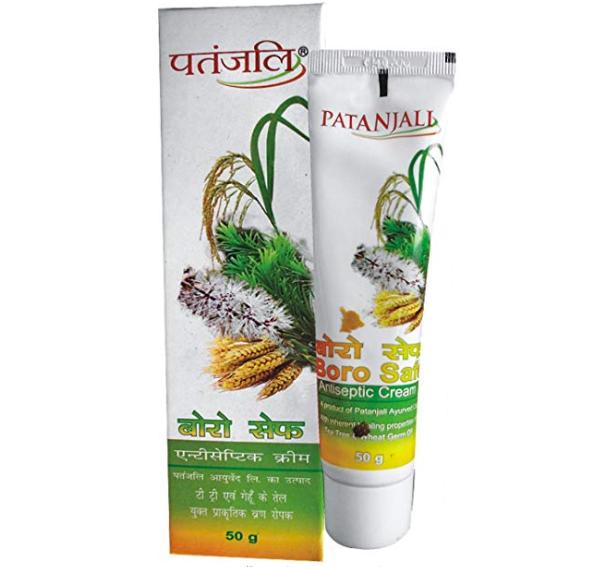 PATANJALI Antiseptic Cream Boro Safe