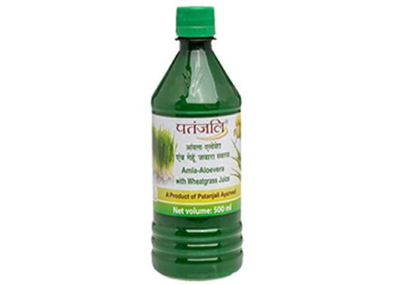 Patanjali Wheat Grass Juice