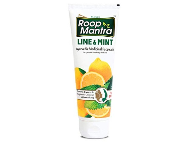Roop Mantra Herbal Lime and Mint Face Wash