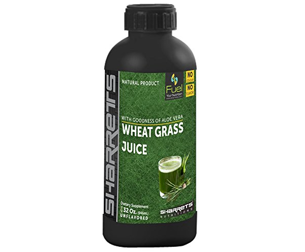 Sharrets Nutritions Wheat Grass Juice