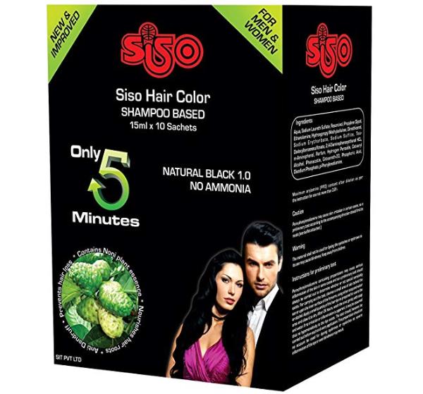 Siso Shampoos Based hair color