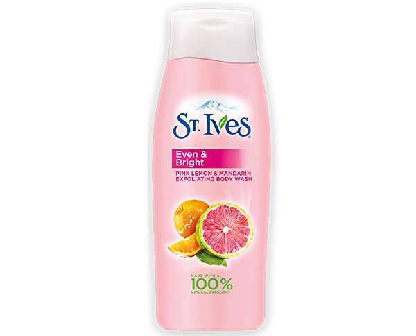 St. Ives Even & Bright Exfoliating Body Wash