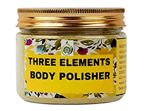 Three Elements Body Polisher for Glowing Skin & Tan Removal