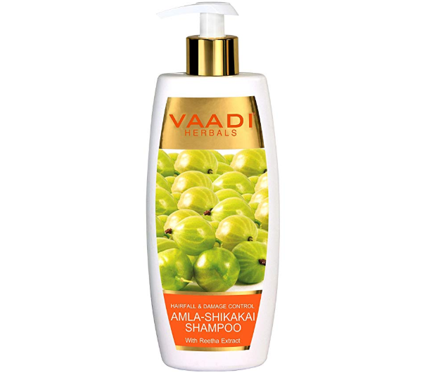 Vaadi Herbals Amla Shikakai Shampoo for Hair fall and Damage Control