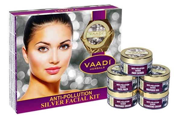Vaadi Herbals Anti Pollution Silver Facial Kit