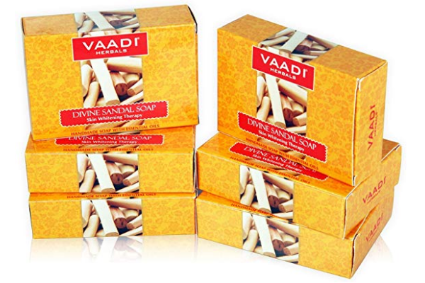 Vaadi Herbals Divine Sandal Soap with Saffron and Turmeric