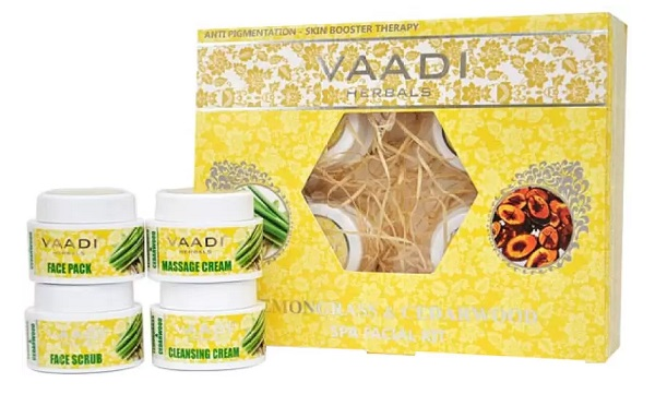 Vaadi Herbals Lemongrass Anti Pigmentation Spa Facial Kit