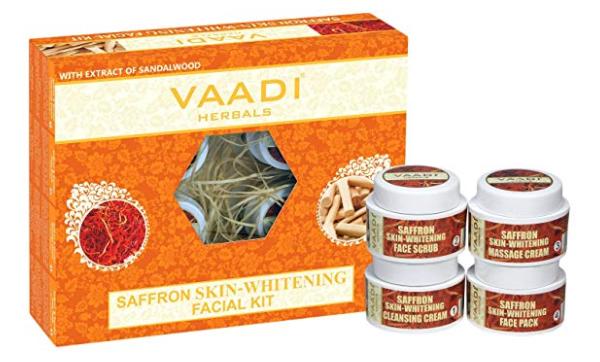 Vaadi Herbals Saffron Skin Whitening Facial Kit