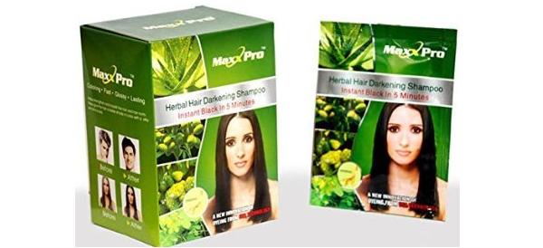 Veda Herbals Maxx Pro Herbal Hair Darkening Shampoo