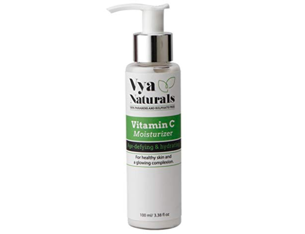 Vya Naturals 100% PARABENS AND SULPHATE FREE Vya naturals Vitamin C Glow-Boosting Moisturiser