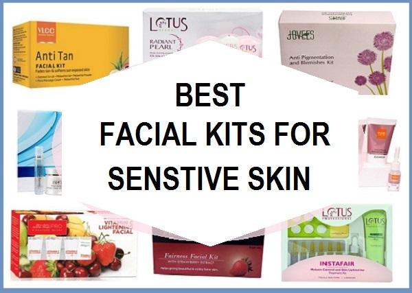 best facial kits for sensitive skin in india