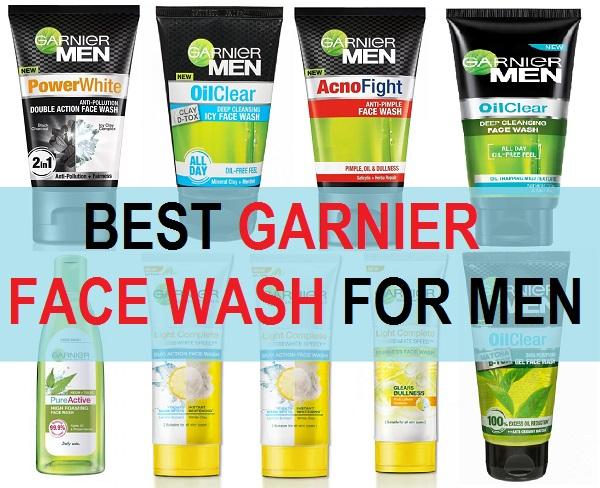 best garnier face wash for men in India