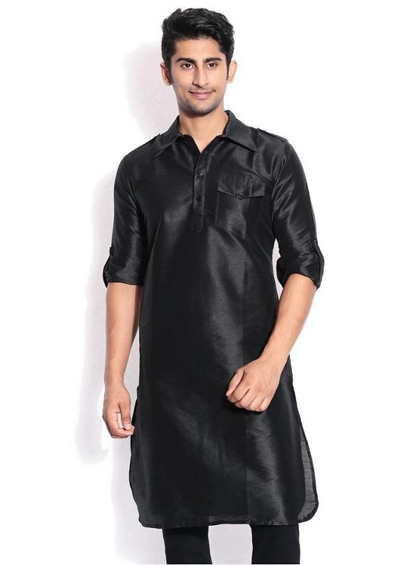 black kurta men 2