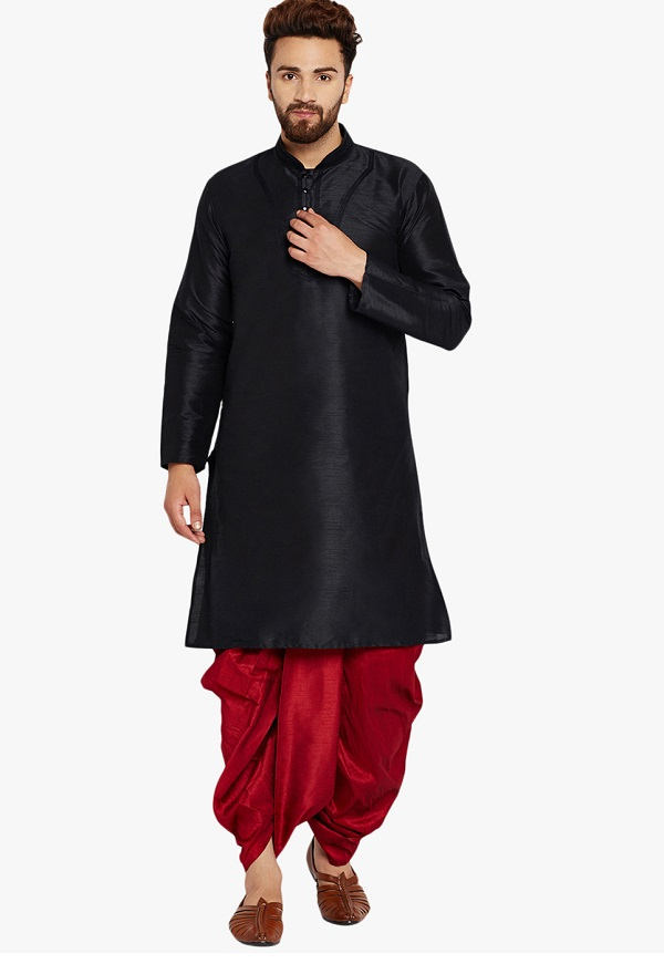 black kurta men 3