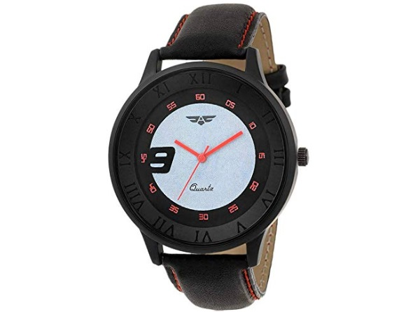 ASGARD Trendy Black Dial Watch for Men