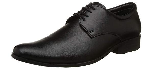BATA Men's Alfred Black Formal Shoes