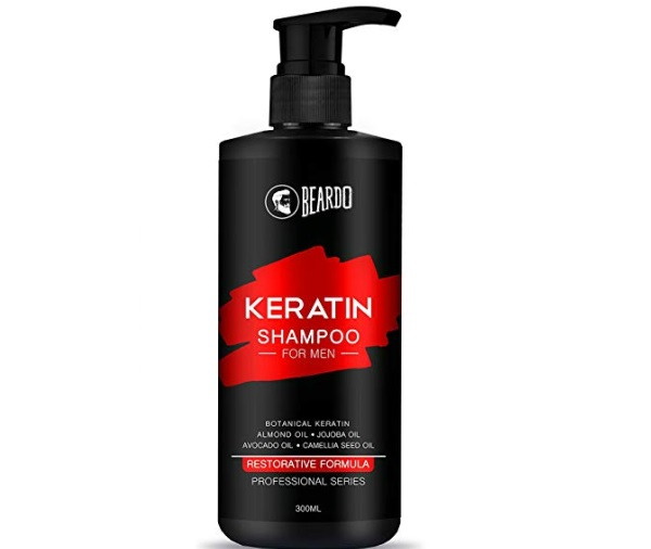 Beardo Keratin Shampoo for Hair Growth & Damage Control