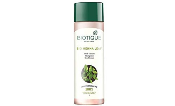 Biotique Henna Leaf Fresh Texture Shampoo and Conditioner
