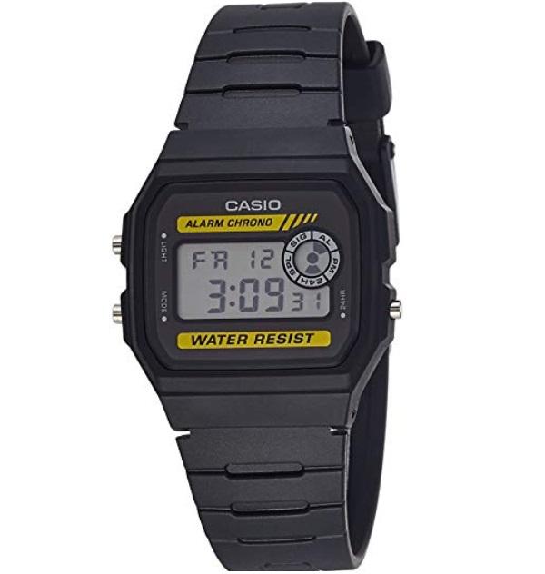 Casio Vintage Series Digital Grey Dial Men's Watch