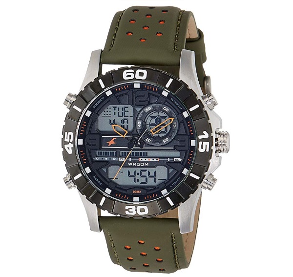 Fastrack Analog-Digital Black Dial Men's Watch