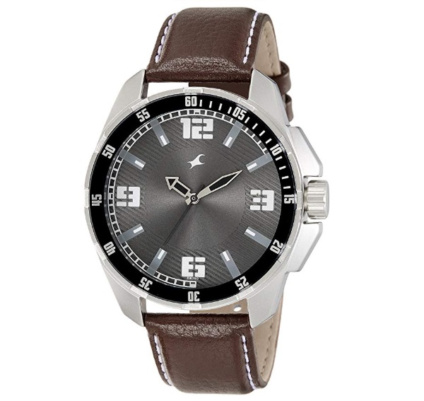 Fastrack Analog Grey Dial Men's Watch