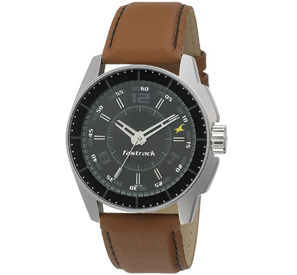 Fastrack Black Magic Analog Dial Men's Watch