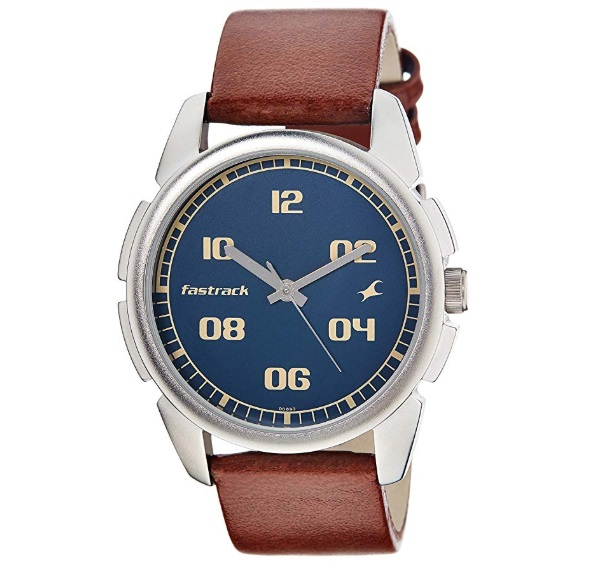Fastrack Casual Analog Blue Dial Men's Watch