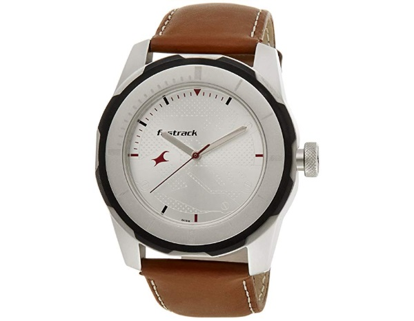 Fastrack Economy 2013 Analog White Dial Men's Watch