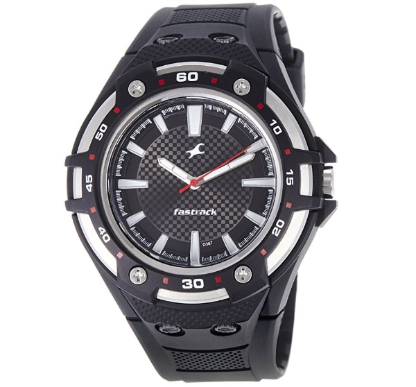 Fastrack New OTS Analog Black Dial Men's Watch