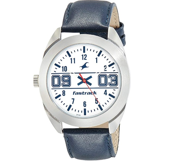 Fastrack Varsity Analog Silver Dial Men's Watch