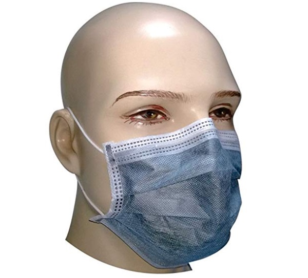 Filtra Disposable Air Pollution Face Mask with Activated Carbon