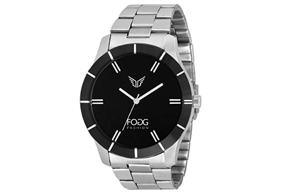 Fogg Analog Black Dial Men's Watch