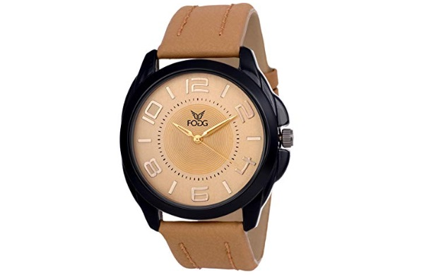 Fogg Analog Gold Dial Men's Watch