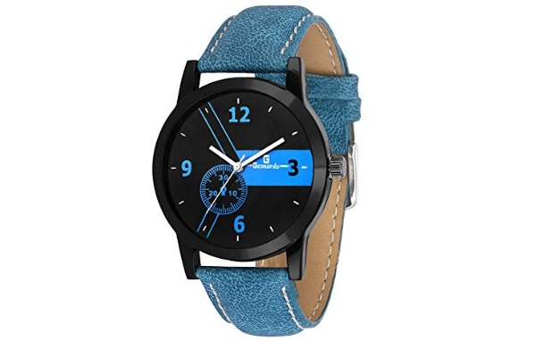 Geonardo Blue Dial Sports Analog Watch
