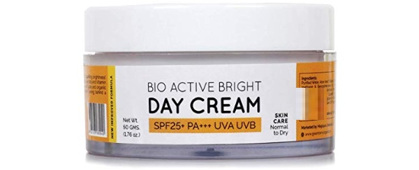 Greenberry Organics BioActive Bright Day Cream with SPF 25