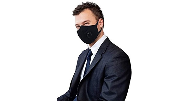 Grin Health Anti-Pollution Mask - Black