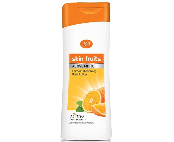JOY Skin Fruits Women's Active White Fairness and Whitening Body Lotion