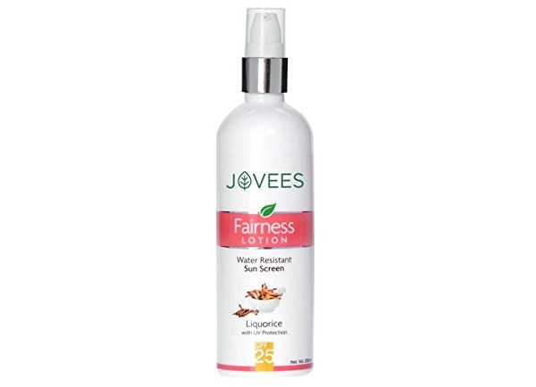 Jovees Water Resistant Sun Screen Fairness Lotion