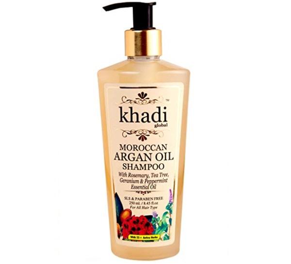 Khadi Global Moroccan Argan Hair Shampoo