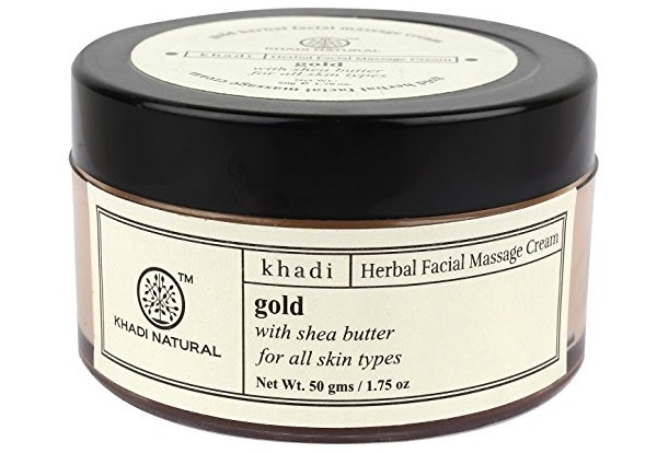 Khadi Natural Gold Herbal Facial Massage Cream