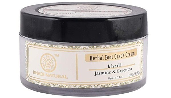Khadi Natural Jasmine and Green Tea Herbal Foot Crack Cream