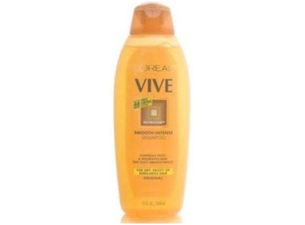 L'Oreal Paris Vive Smooth-Intense Shampoo for Dry, Frizzy Or Rebellious Hair