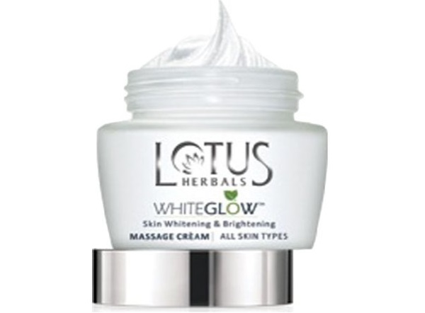 Lotus Herbals Whiteglow Skin Whitening and Brightening Massage Creme