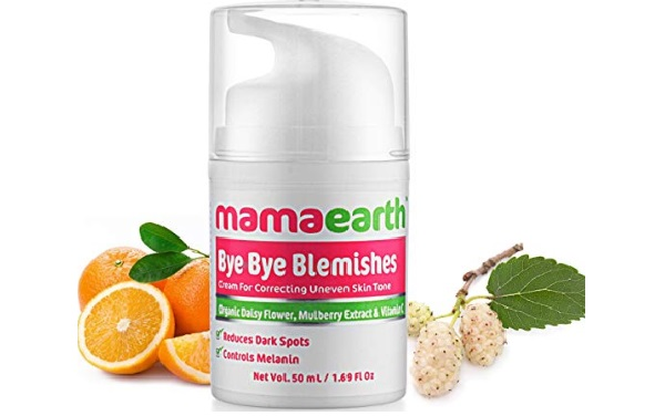 Mamaearth Bye Bye Blemishes For Pigmentation, Sun Damage & Spots Correction