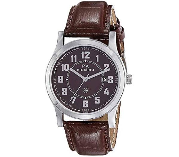 Maxima Analog Brown Dial Men's Watch