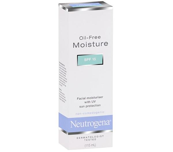 Neutrogena Oil-free Facial Moisturiser SPF 15