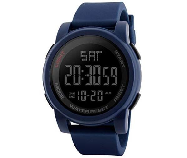 SKMEI Sports Digital Blue Dial Men's Watch