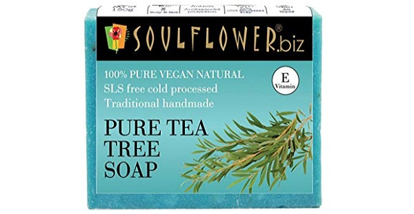 Soulflower Handmade Tea Tree Soap