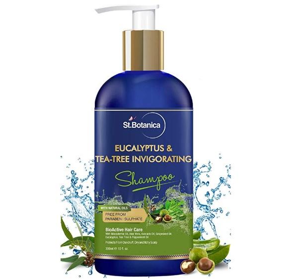 StBotanica Eucalyptus & Tea Tree Oil Hair Repair Shampoo