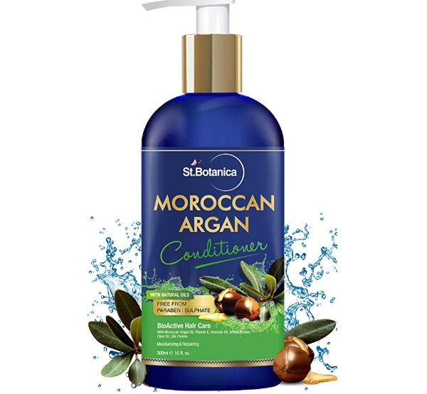 StBotanica Moroccan Argan Hair Conditioner with Argan and Olive Oil